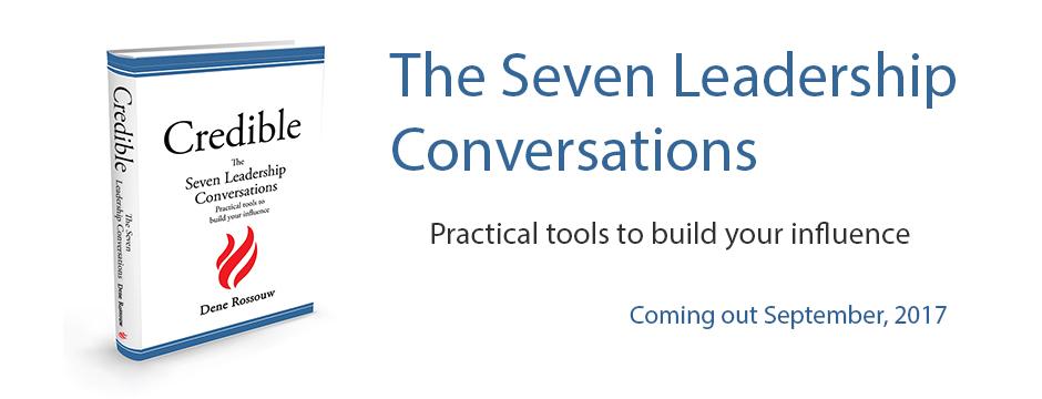 The seven leadership conversations